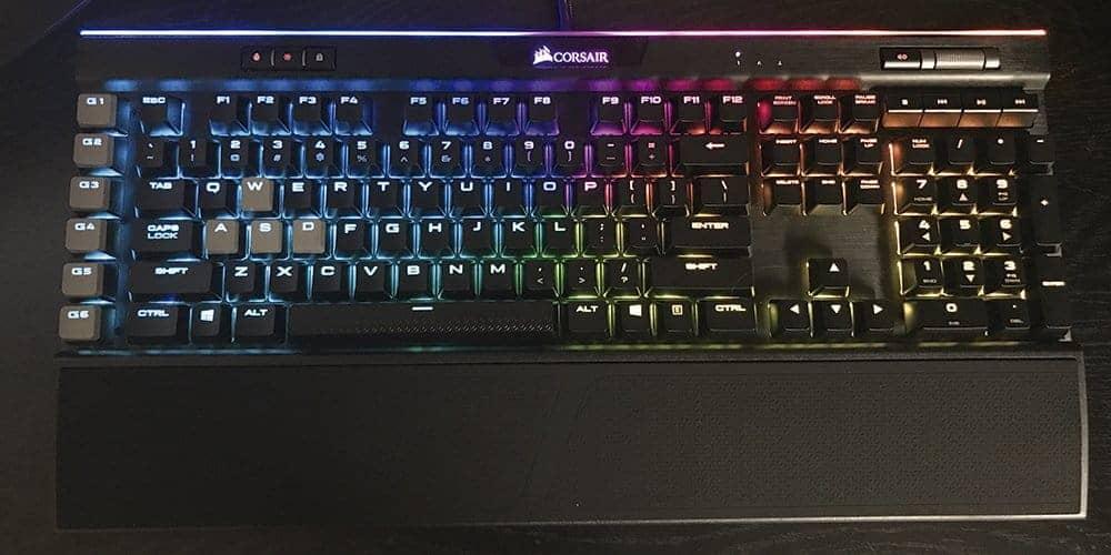 melhor teclado gamer Corsair K95 RGB Platinum