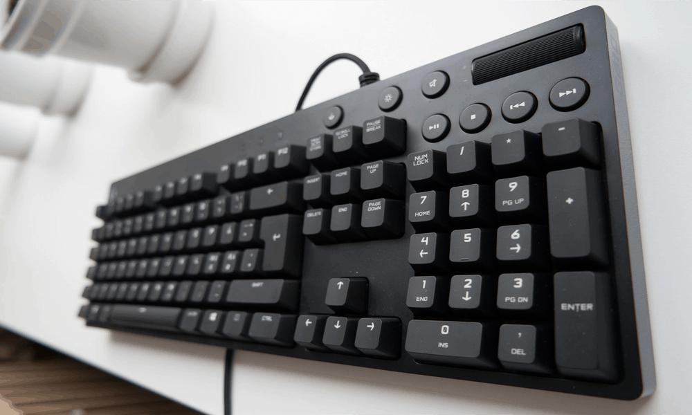 Logitech G610 Orion melhor teclado gamer barato