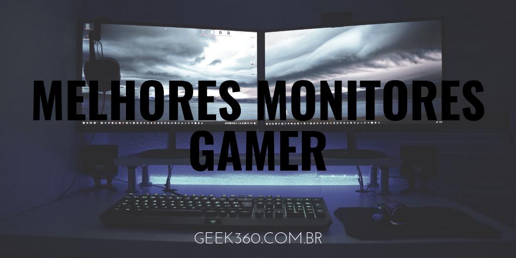 melhores monitores gamer