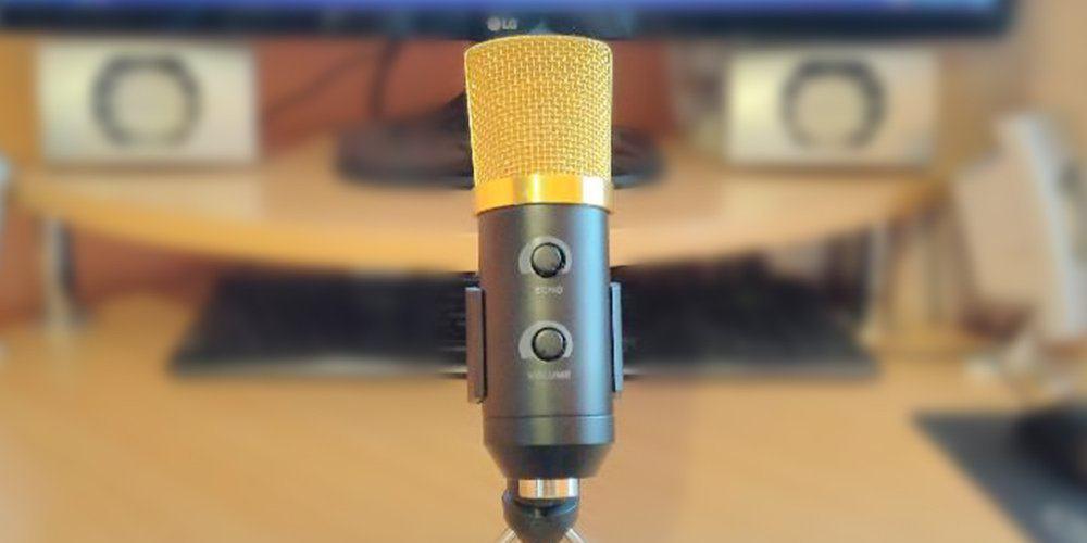 BM-100FX USB Microfone USB Barato