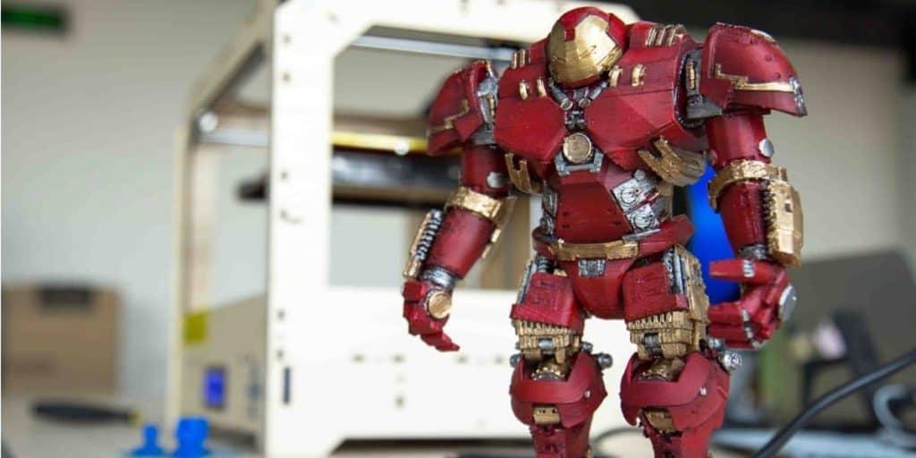 Impressora 3D Action Figure