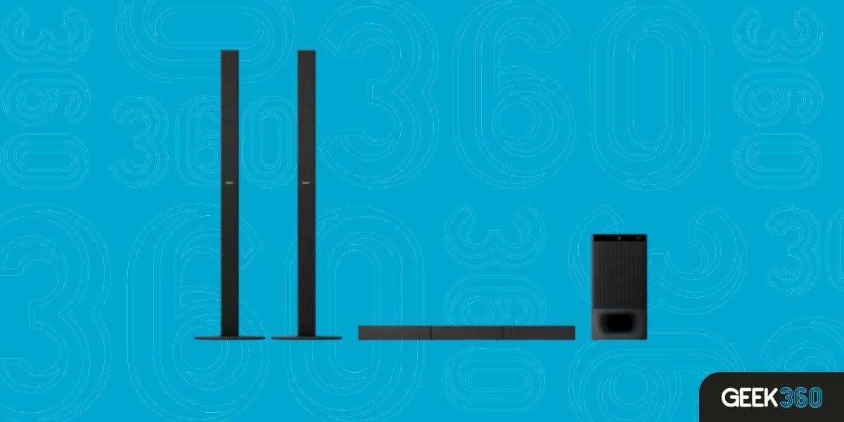 Soundbar 5.1 para Filmes e Shows