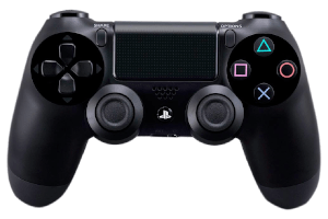 Sony Dualshock 4_table