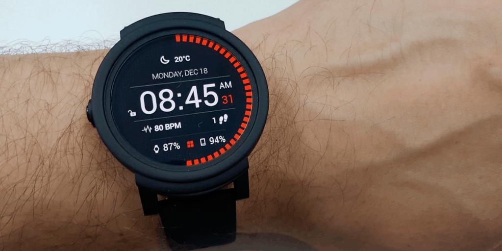 Ticwatch Shadow: Melhor Smartwatch com Wear OS