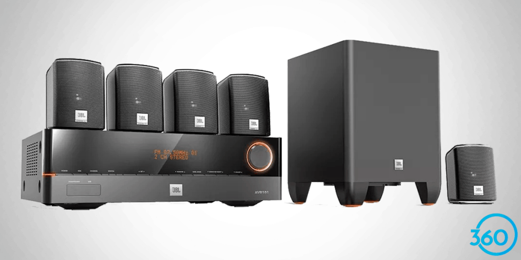 Home Theater JBL J5100