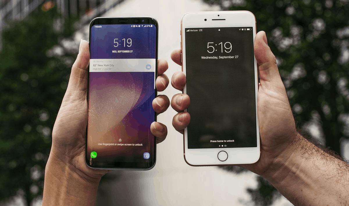 qual é melhor iOS ou android