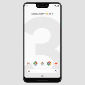 Google Pixel 3 XL - tabela