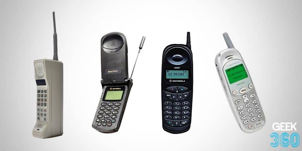 celulares antigos da Motorola