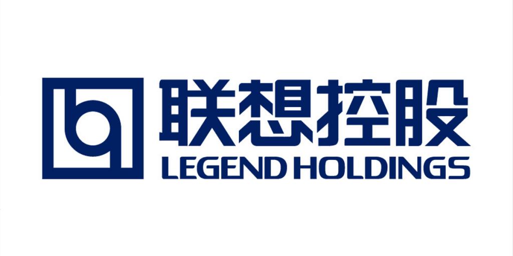 Uma das primeiras logos da Lenovo, antes da mudança oficial para o nome que permanece até hoje