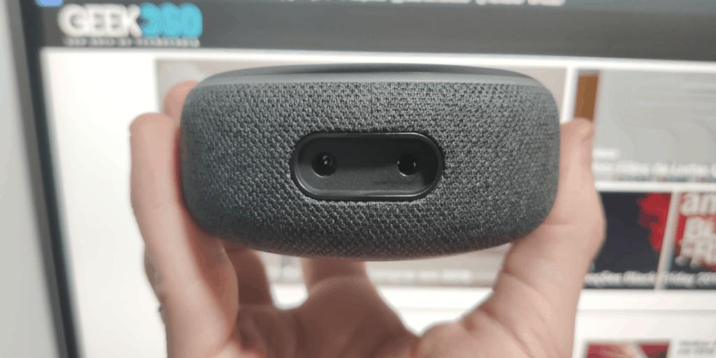 Portas e Conexões da Echo Dot