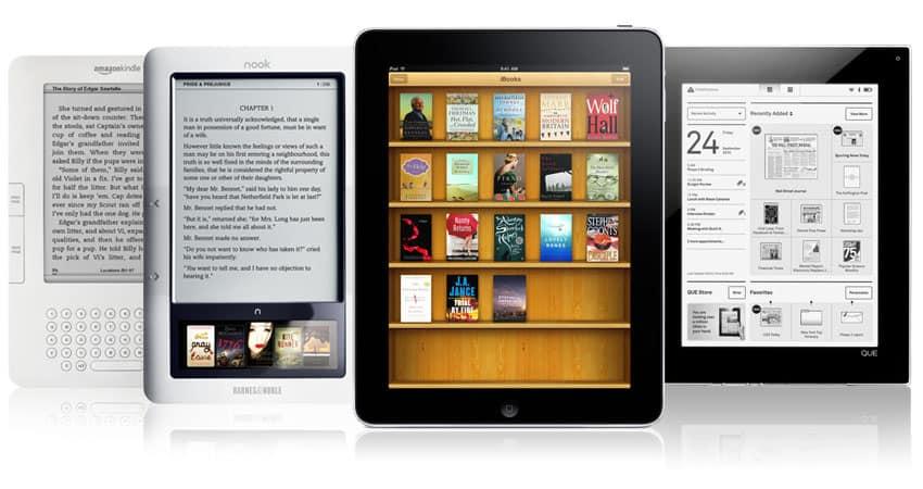 Tablet vs leitor digital vs e-reader