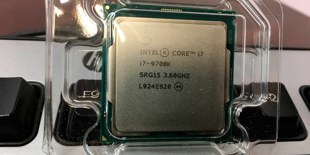 Intel Core I7 9700 k