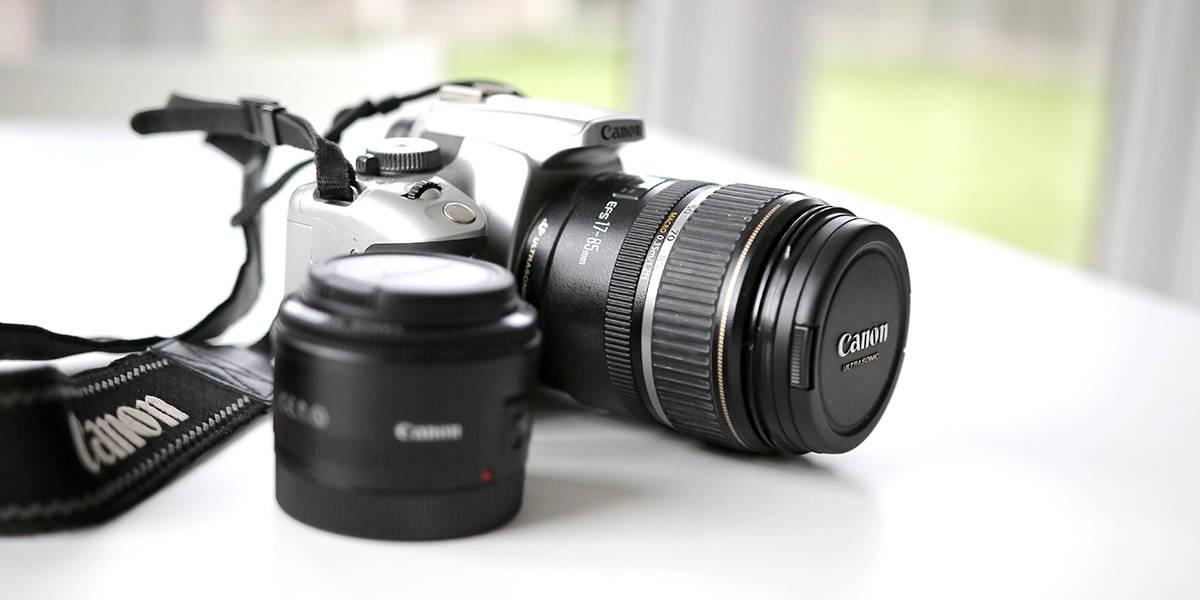 Melhor câmera DSLR