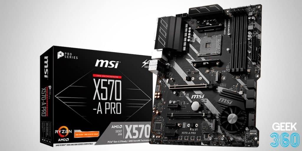 Msi X570-a Pro Crossfire