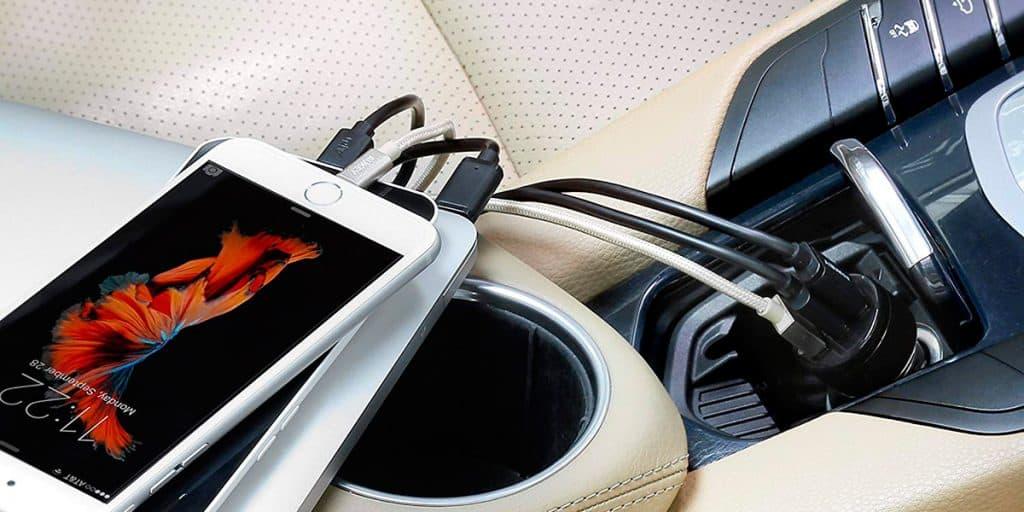 Carregador USB para Usar no Carro Top de Linha