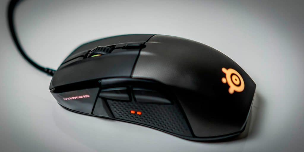Wired Gamer Vibrating Mouse