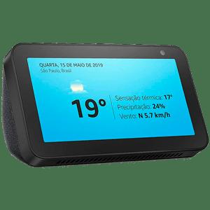 Caixa de Som Bluetooth Inteligente com Tela