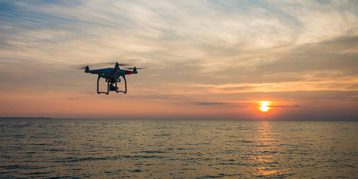 Tirar fotos com drone