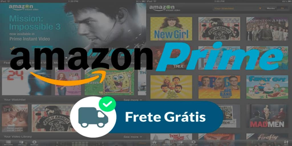 Amazon Prime Frete Grátis