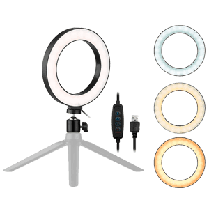 Ring Light para Usar na Mesa