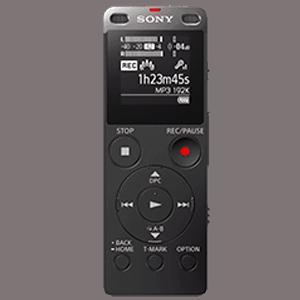 Gravador de Áudio Mais Portátil