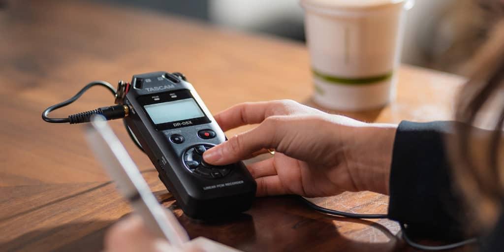Gravador de Áudio para ASMR e Podcast