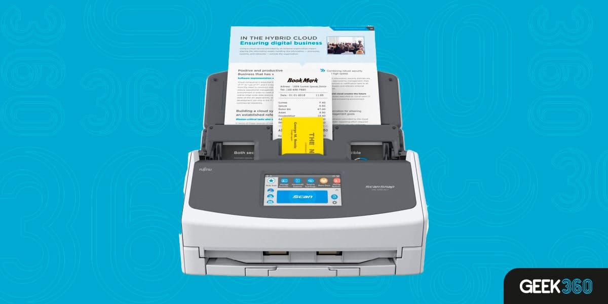 Melhor Scanner de Mesa Sem Fio