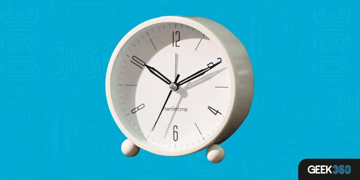 Relógio Despertador Analógico Baoblaze