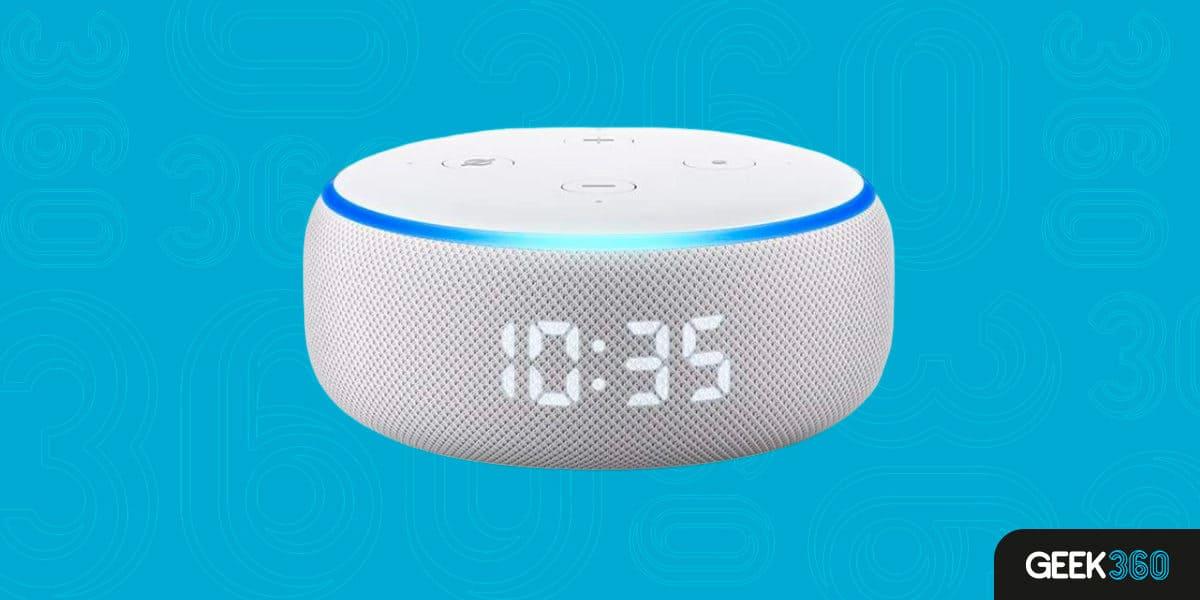 Despertador Inteligente Alexa Echo Dot