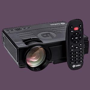 Mini Projetor Bluetooth Betec BT810
