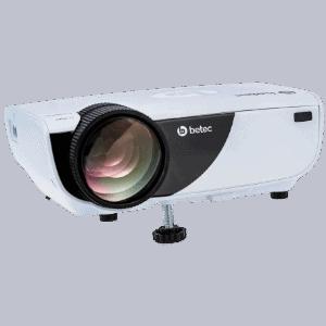 Mini Projetor LED Betec BT836A