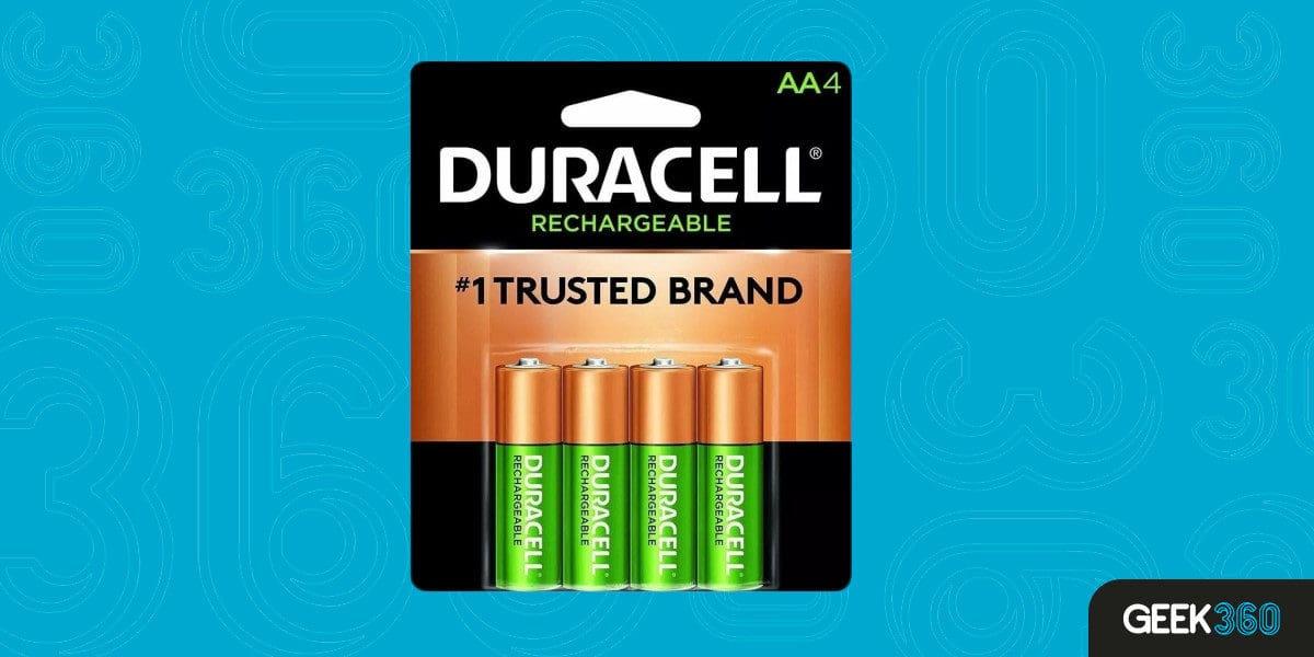 Pilha Recarregável Duracell AA-4