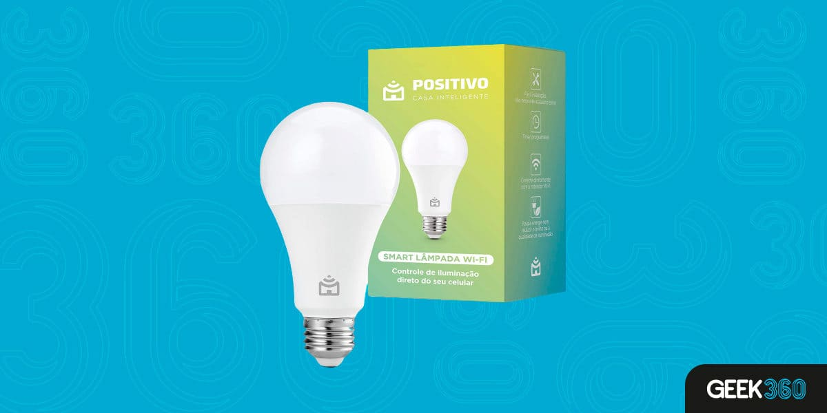 Lâmpada Positivo Casa Inteligente