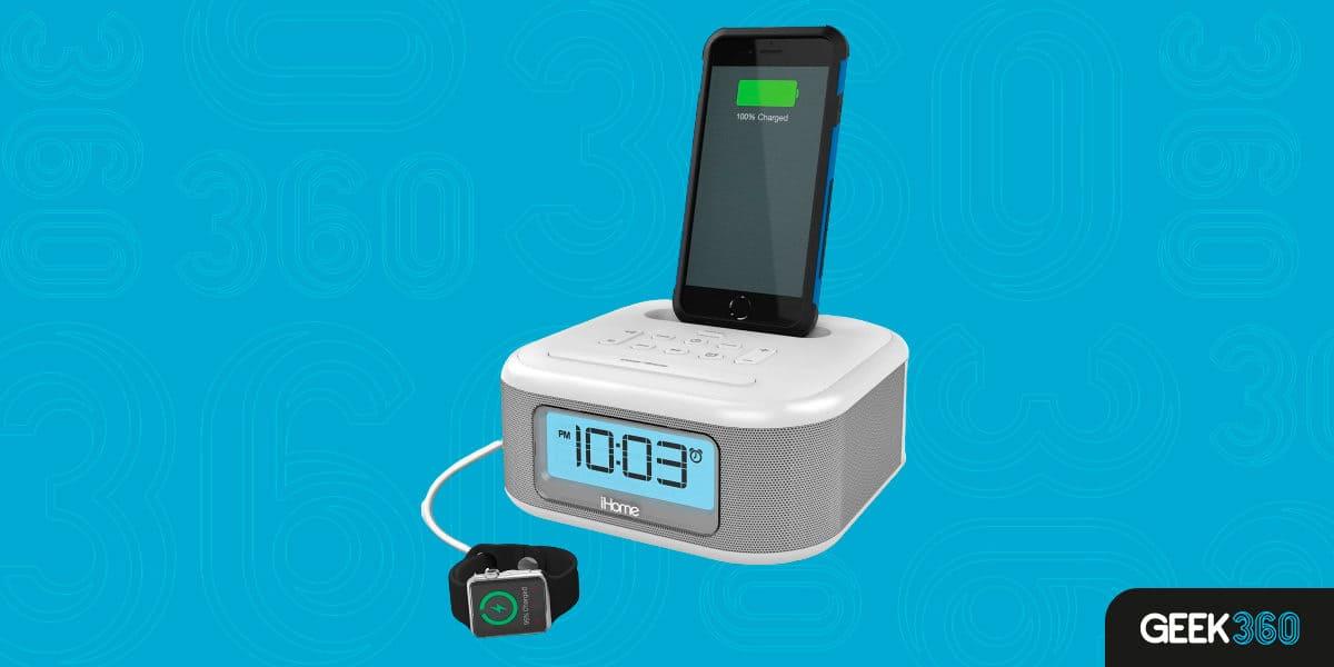 Despertador Digital Rádio Relógio IHome iPL23V2