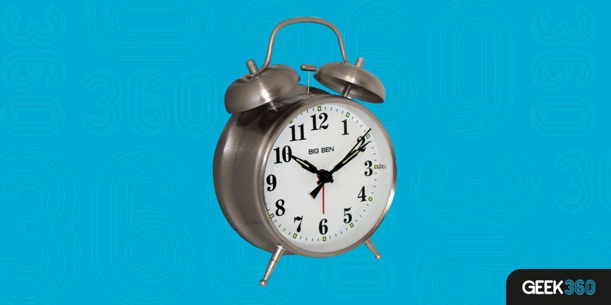 Despertador Analógico Westclox Twin Bell