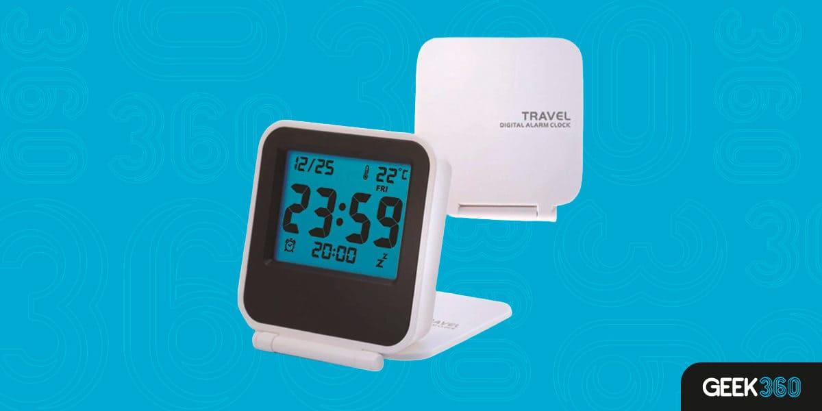 Despertador Digital Travel Justdolife