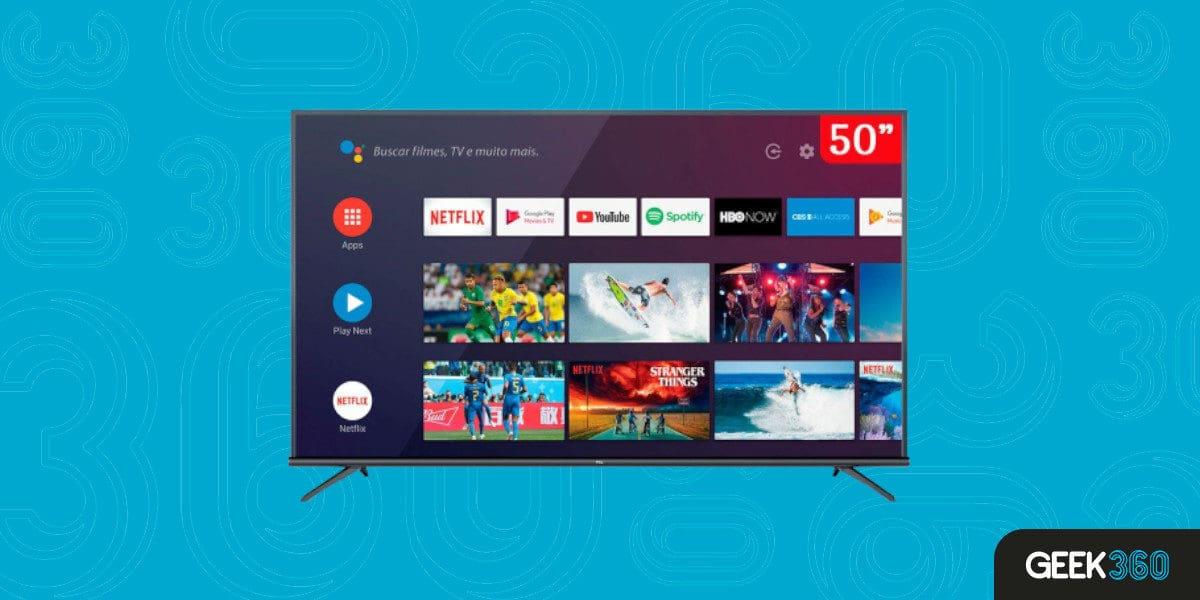 Smart TV TCL 50P8M