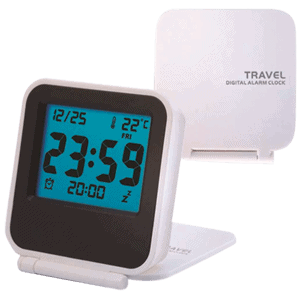 Melhor Relógio Despertador Digital Pequeno para Viagens