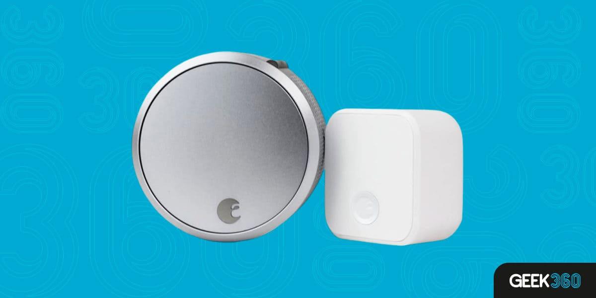 Fechadura August Smart Lock Pro + Connect