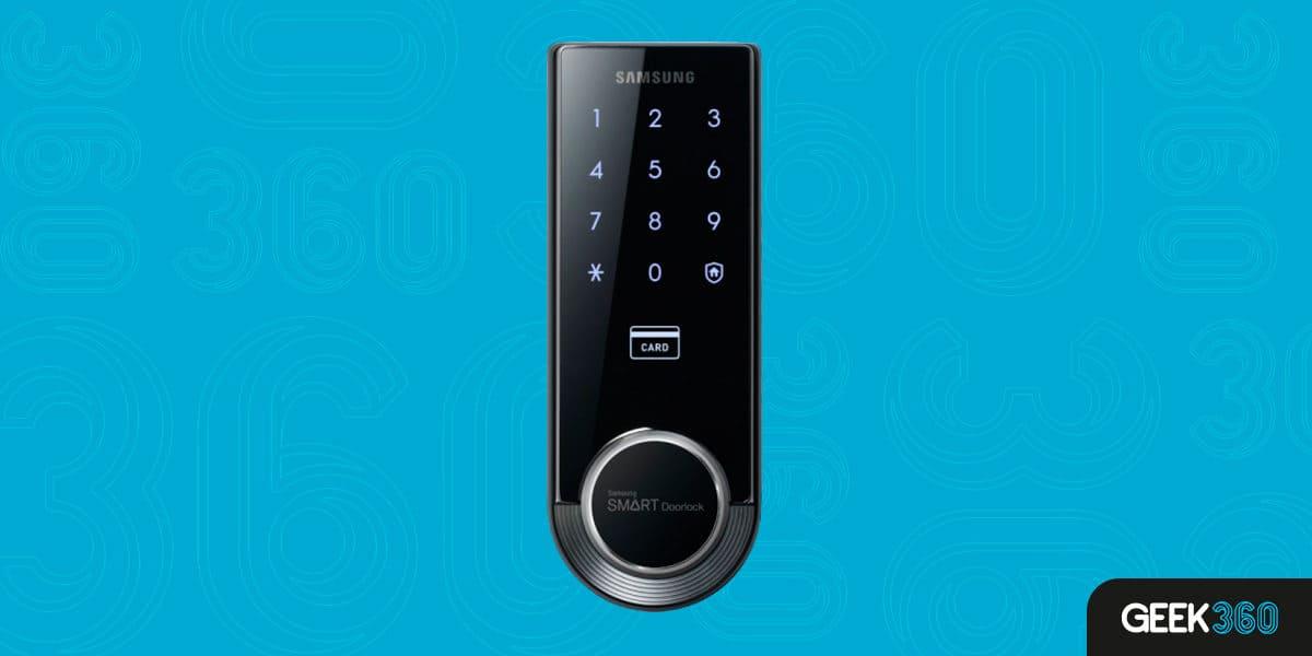 Fechadura Digital Samsung SHS-3321 Smart Home