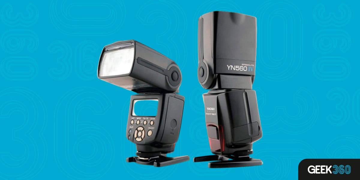Flash para Câmeras Nikon Boa e Barata
