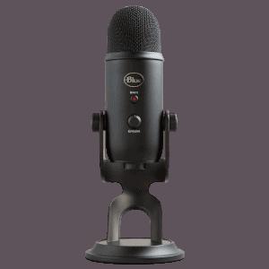 Microfone USB Blue Yeti