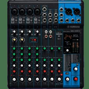 Mesa De Som Analógica Yamaha Mg10Xu
