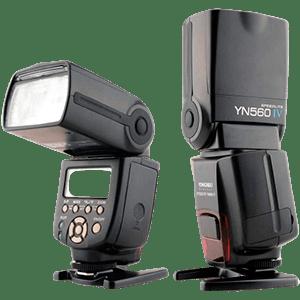 Flash Yongnuo Yn560 Iv Speedlite Digital