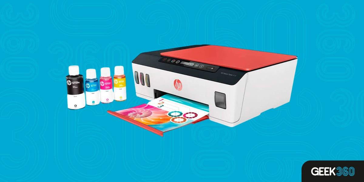 Melhor Impressora Colorida Tanque de Tinta