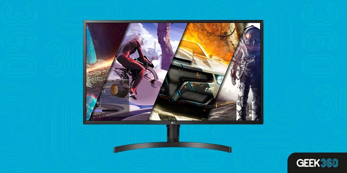Monitor LG VA Ultra HD 4K 32UK550