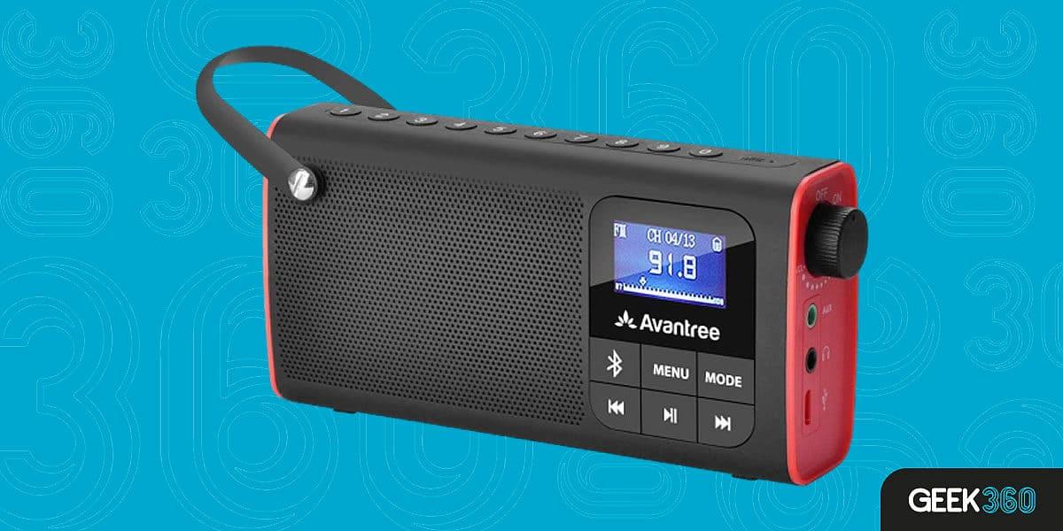 Melhor Rádio Portátil com Bluetooth e Bateria Recarregável
