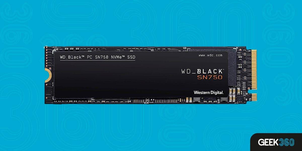 SSD M2 1TB Western Digital Black SN750 3D