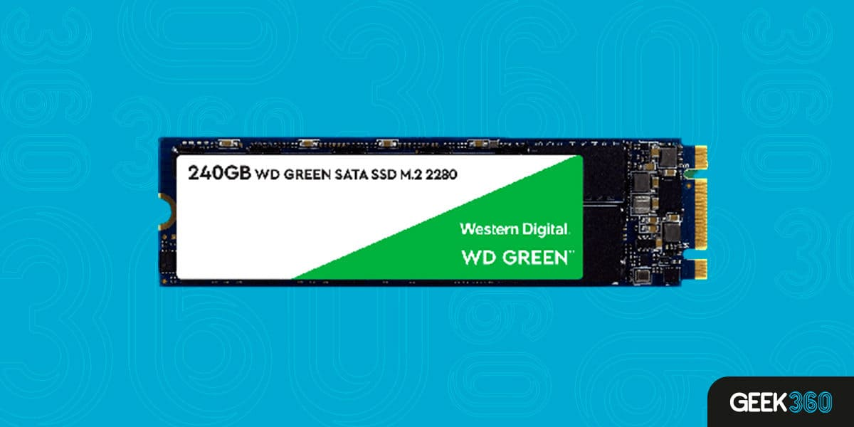 WD GREEN SSD M.2 240GB WDS240G2G0B
