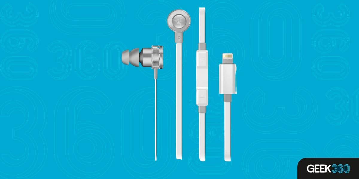 Razer Headset Hammerhead iOS Mercury